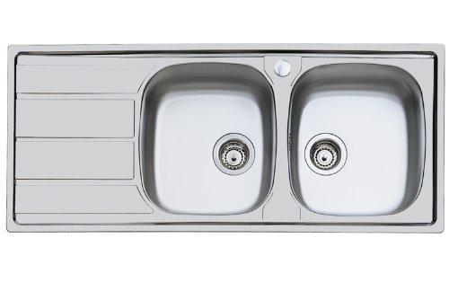 foster-s1000-lavello-metallo-spazzolato-116x50x17-cm