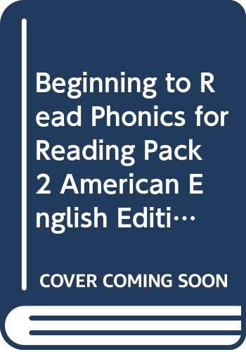 Beginning to Read Phonics for Reading Pack 2 American English Edition (Cambridge Reading)