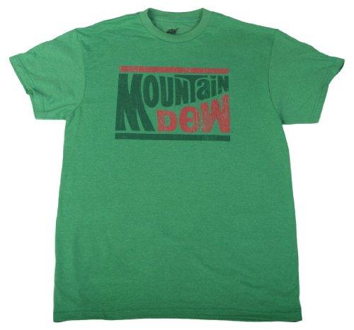 mountain-dew-drink-t-shirts-maglietta-con-logo-invecchiato-verde-medium
