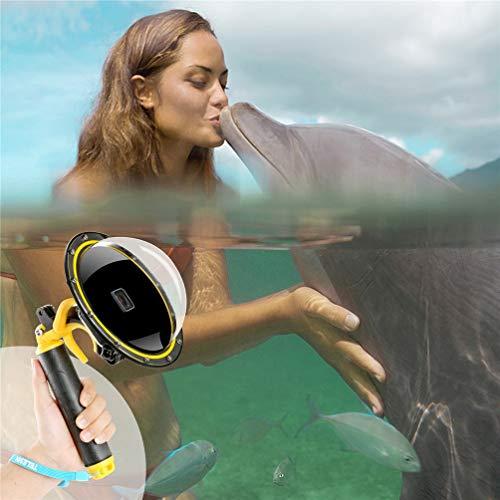 Pour Gopro Dome, Étui étanche pour GoPro Hero 5 6 Port de Plongée Sous-Marine Couvercle de l'Objectif avec Pistolet Pistolet