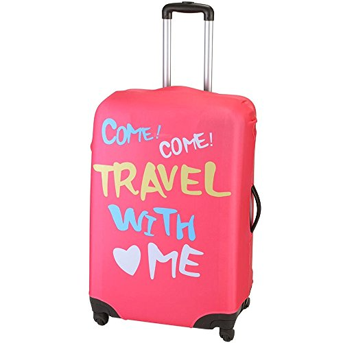 Housse de valise Travel with me Rose Petit modèle La chaise longue 33-1V-001M