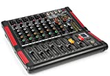 Power Dynamics PDM-M604 Mesa de mezclas 6 entradas para micrófono Procesador multi-FX de 24 bits