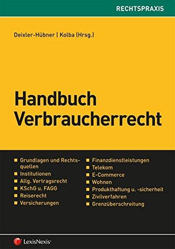 Handbuch Verbraucherrecht (Rechtspraxis)