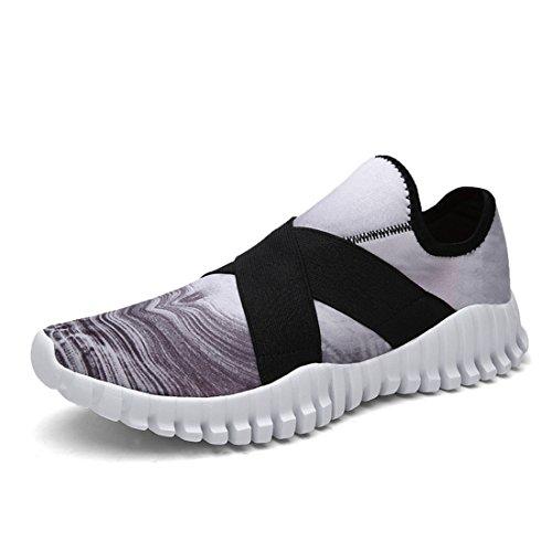 Men's Flexible Lightweight Comfortable Outdoor Running Shoes Grey