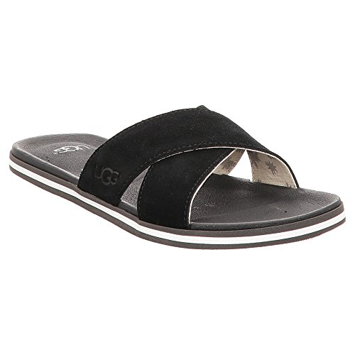 Ugg Beach Shoes Sandals Black Men's Black Tangas