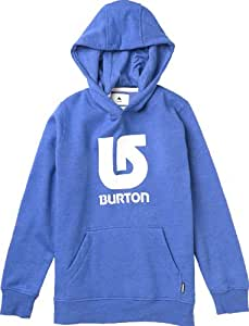 Burton Jungen Pullover Boys Logo Vertical, Heather Cyanide, 140, 11169100435