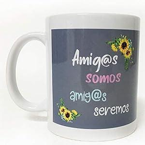 ARTEMODEL amig@s Cabras Taza, Multicolor (1)