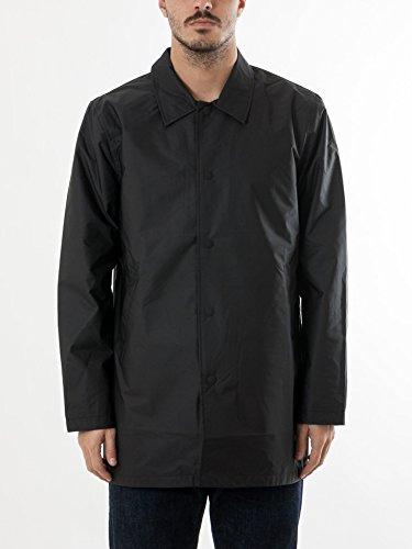 Levis Skate Long Coaches Jacket Jet Black Noir