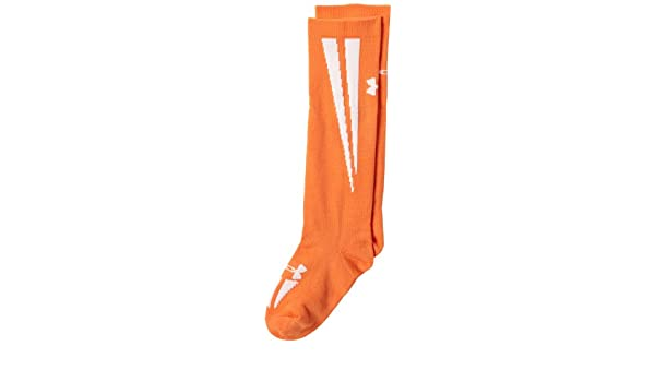 Under Armour Ignite Soccer Over the Calf Socks Orange//White Under Armour Socks U412-YLG