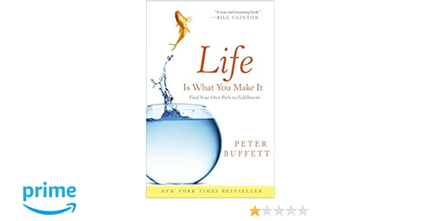 Amazon Fr Life Is What You Make It Find Your Own Path To