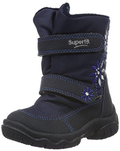 Superfit FAIRY 700091, Mädchen Schneestiefel, Blau (OCEAN KOMBI 81), 30 (Mädchen Super Stiefel)