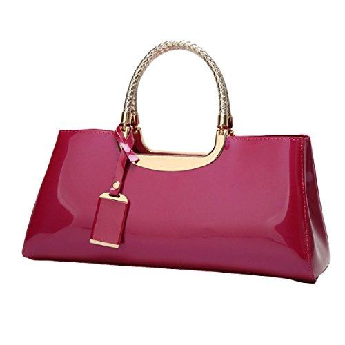Art Und Weisehandschuh-Handtaschen-Dame-Schulter-Beutel-Beutel-Beutel-Abend-Beutel Red2