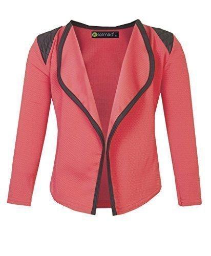 2775 Coral 9-10 Y Girls Blazer Jacket