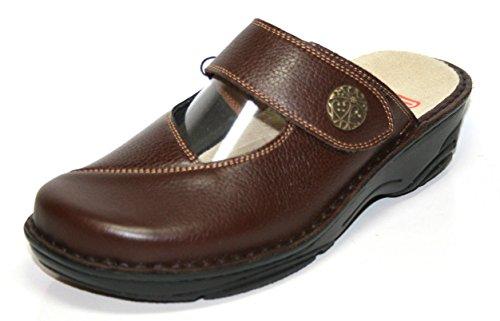 Berkemann Heliane03457, Pantofole donna Marrone marrone Marrone (marrone)
