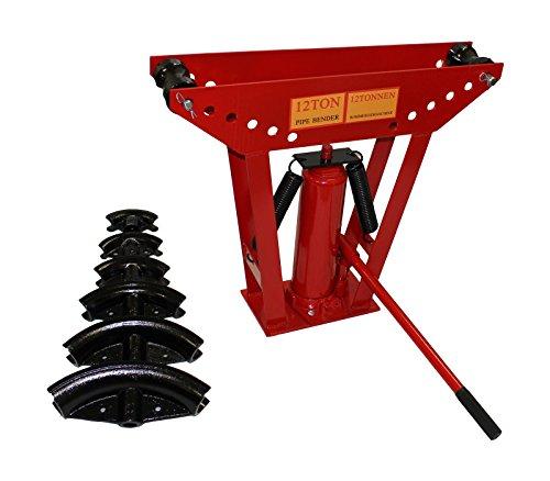 Preisvergleich Produktbild Hydraulische Rohrbiegemaschine 12 T Rohrbieger Rohrbiegegerät Biegemaschine