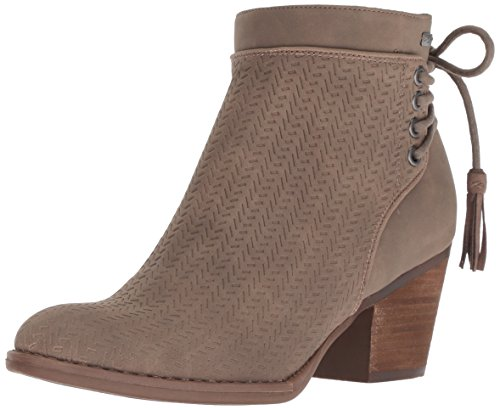 Fashion Boot Devon, geprägt, Mode-Stiefel, anthrazit, 36.5 EU ()