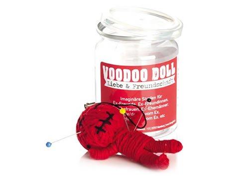 Voodoo Doll in Dose +++ LUSTIG von modern times +++ LIEBE & FREUNDSCHAFT - VOODOO-DOLL +++ I LOVE GIFTS