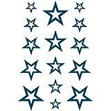 Fashion Art Temporary Waterproof Tattoo Sticker Unisex star