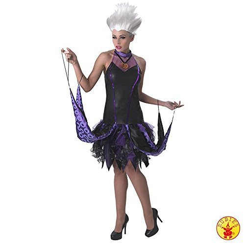 Disney The Little Mermaid ~ Sassy Ursula - Adult Licensed Costume Lady: S (UK: 8-10) *Wig Not Included by (Kostüme Disney Ursula)