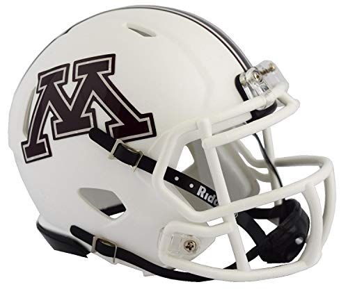 NCAA Speed Mini-Helm, Herren Unisex Damen, 3002077, Minnesota Golden Gophers, 12,7 cm Ss Tumbler