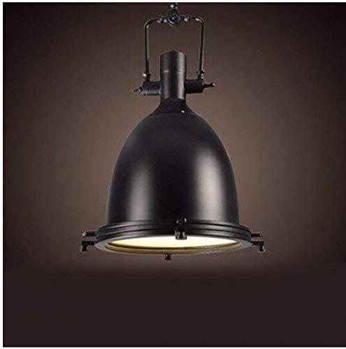 E27 Retro Metallo Lampadari Chandeliers American Industrial Fans Bar Creatività Ferro Pentola Coperchi Ristoranti Lampade (M) 36 * 56 Cm
