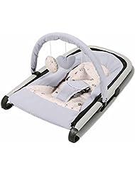 QIAN Sillón reclinable de bebé recién nacido y sacudió la cama cuna mecedora plegable extraíble