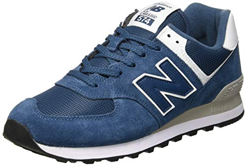 buy online 26d72 9c26e New Balance ML574EGN, Zapatillas Hombre, Azul (Sea Smoke White Esm),
