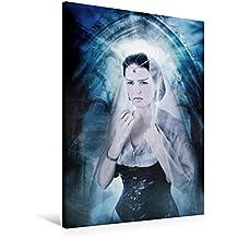 Premium Textil-Leinwand 60 x 90 cm Hoch-Format Titania | Wandbild, HD-Bild auf Keilrahmen, Fertigbild auf hochwertigem Vlies, Leinwanddruck von Ravienne Art