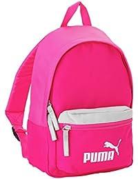 Puma mochila pequeña, color rosa y blanco