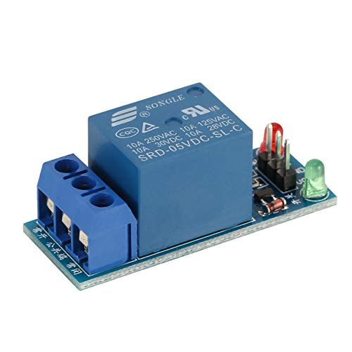 Mini 1 Kanal DC 5V Low Level Trigger Interface Board Relaismodul mit LED-Lampe Schutz Kit für elektronische JBP-X Electronic-light-action-kit