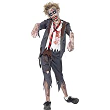 Smiffy's - Disfraz para niño con diseño zombi, talla M (43022M)
