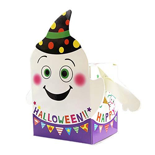 Ghost Armee Kostüm - 50 x Halloween-Geschenkboxen für Süßigkeiten, Halloween-Partys, Geschenkboxen Einheitsgröße Ghost With Arm