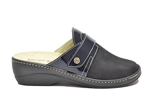Cinzia Soft Ciabatte scarpe donna blu PLANTARE ESTRAIBILE IAEH77-NV 38