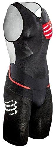 Compressport Heren TR3 Aero Suit Triathlon, zwart, L