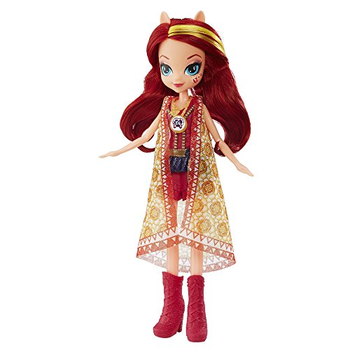 My little Pony Equestria Girls Legend of everfree Sunset Shimmer Puppe