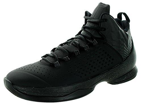 Nike Jordan Melo M11, espadrilles de basket-ball homme Noir