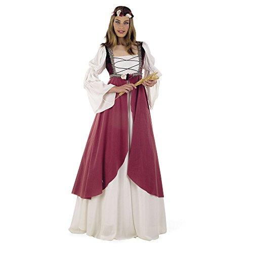 Damen Sport Kostüm - Limit Sport Rosa Mittelalter-Kostüm für Damen - XL