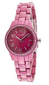 Guess Damen-Armbanduhr XS Analog Quarz Edelstahl W80074L1