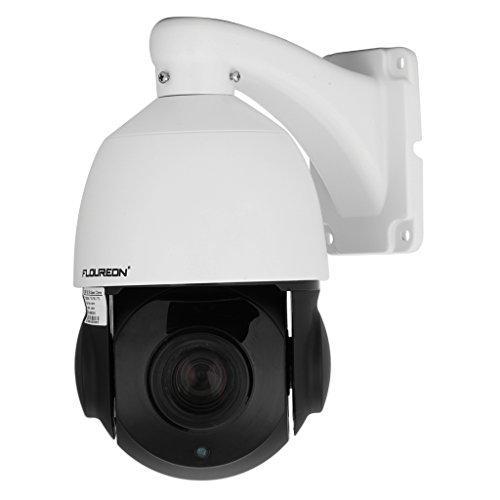 FLOUREON 1080P Dome IP Kamera CCTV Überwachungskamera PTZ 18X ZOOM 4.7-84.6mm ONVIF P2P IP Cam IR-CUT Infrarot 50M Nachtsicht Wasserdicht Sicherheitskamera Bewegungsmelder (Kamera Varifocal Ip 5)