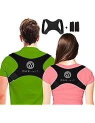 Haltungskorrektur rücken Herren | Damen, für Eine Bessere Körperhaltung und Unterstützung des Rückens Damen Herren Geradehalter | Haltungsbandage Rückenstützgürtel S-M-L