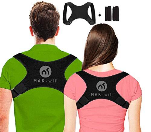Haltungskorrektur rücken Herren | Damen, für Eine Bessere Körperhaltung und Unterstützung des Rückens Damen Herren Geradehalter | Haltungsbandage Rückenstützgürtel S-M-L Nova-Form