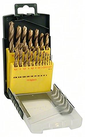 Bosch DIY 19tlg. Metallbohrer-Set HSS-TiN