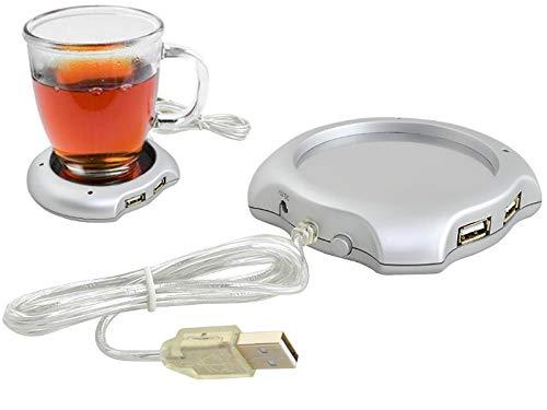 Iso Trade USB Tassenwärmer USB Kaffeewärmer Büro Notebook PC Kaffee Tee 070