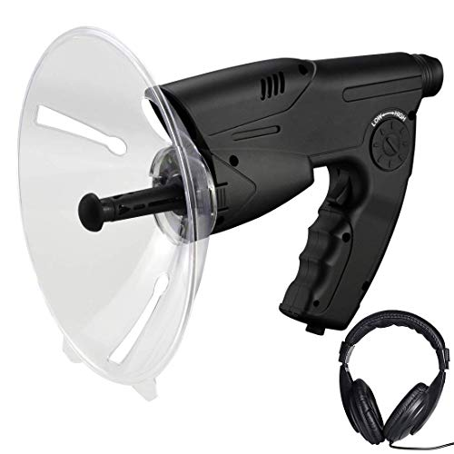 XWZG Dispositivo de Escucha, Explorador científico Dispositivo de Escucha electrónica Bionic Ear Dispositivo Digital de observación y observación de la Naturaleza (Auriculares incluidos)