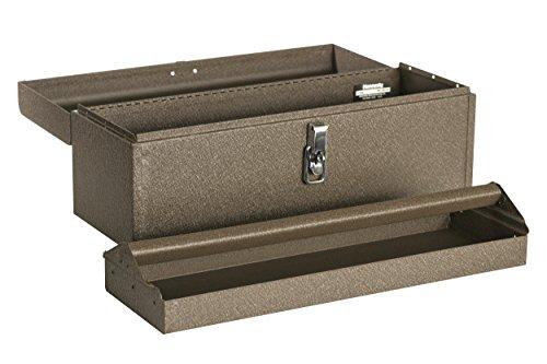 Kennedy Verarbeitung 5220b 50,8cm hand-carry Instrument, mit Tablett, Tan Braun Falten (Kennedy Werkzeug-boxen)
