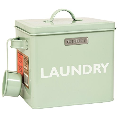 "BENTLEY TRADITIONELLES ENGLISH HERITAGE VINTAGE, RETRO, AUFSCHRIFT ""LAUNDRY POWDER WÄSCHEBOX &SCOOP"