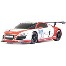 Jamara Audi R8 LMS Performance 1 - juguetes de control remoto (245 mm, 108 mm, 67 mm, AA) Rojo, Color blanco