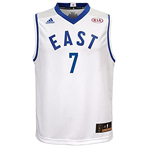 NBA Youth 8-20 Carmelo Anthony All-Star East Replica jersey,L(14-16),White by NBA Brand