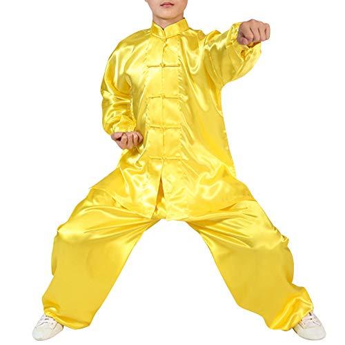 Kung Fu Kostüm Für Erwachsene - Daytwork Erwachsene Kampfsport Darbietungen Tanzkostüme -