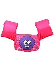 Brassard bébé de baignade - Brassard Gonflable Enfant - Brassard et ceinture de sauvetage - Ceinture Brassards 2 en 1- aide à la natation pour enfants ayant de 2 à 6 ans